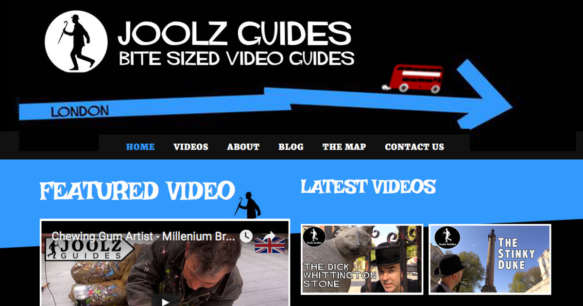 Joolz Guides - Bite Size Video Guides to London