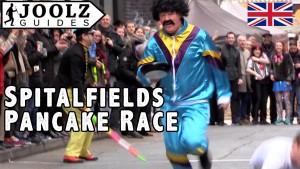 Spitalfields Pancake Day Race