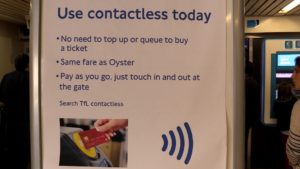 Use contactless payment for cheaper travel on London tubes and buses