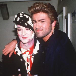 Boy George and George Michael Hampstead