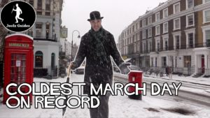 London in the Snow – Coldest March Day Ever